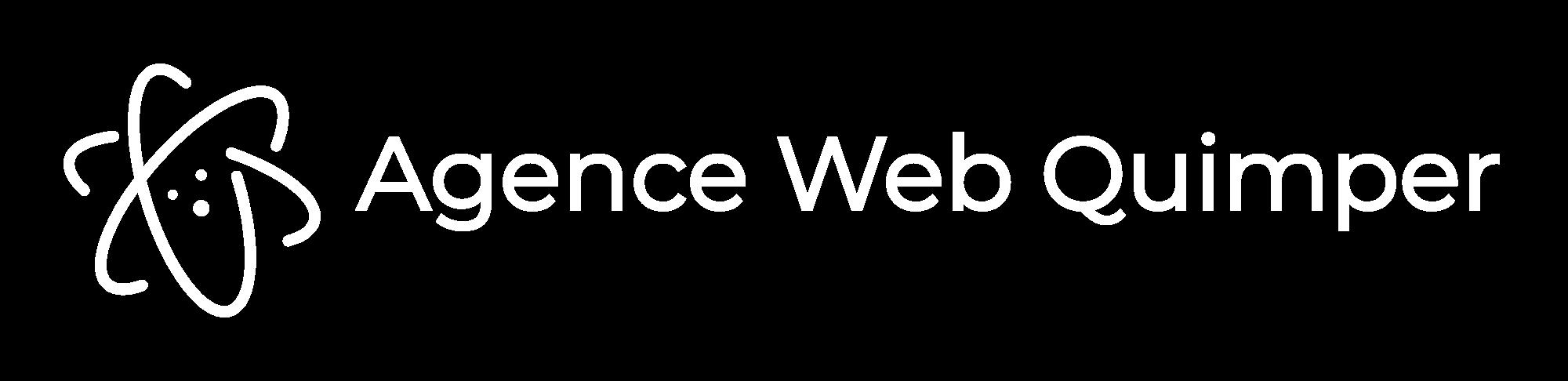 agence web quimper logo blanc